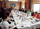 Пресс-ланч с президентом компании «МетЛайф» Александром Зарецким, Москва, 2014 г.